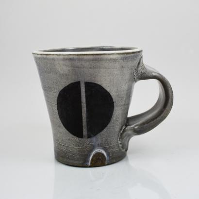 black dot mug