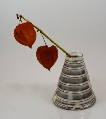 white cone vase 1 photo 1